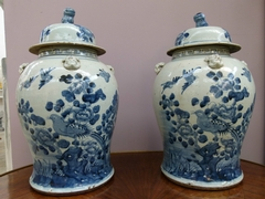 Chinese vases in porcelain, China 1880