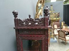 Chinese style Display cabinet in Asiatique rosewood, China 1920