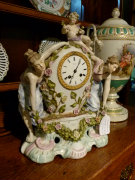 style Clock in porcelain, Germany 1920