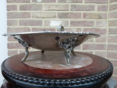 Louis 15 style silver Centerpiece 610g in 800 silver, Germany 1890
