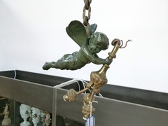 Louis 16 style Lamp in bronze, France 1920