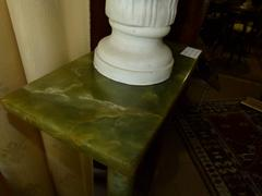 Louis 16 style Pedestal  in onyx and bronze, France 1900