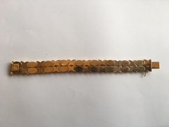 style Yellow golden bracelet 18kt  in 18kt yellow gold 1970